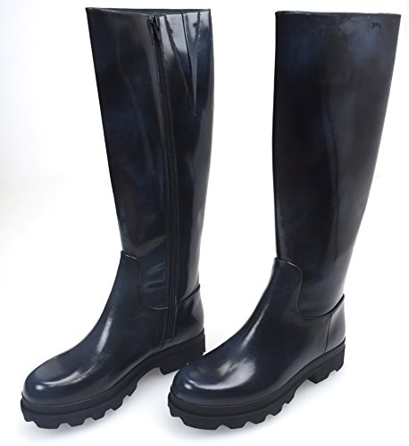 CAMPER Damen Stiefel Stiefeletten Boots SCHWARZ BLAU UNSCHARF Gummi Art. 46813 37 Nero BLU SFUMATO