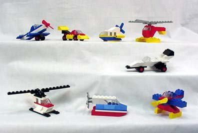 Mcdonald's 1989 Lego Motion - Set of 8, Happy Meal Toys