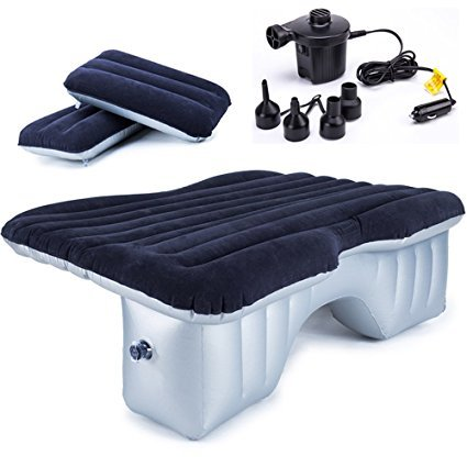 FMS Auto aufblasbare Luftmatratze SUV Luftmatratze Passend für SUV/MVP/Limousinen, Auto-Matratze Bett for Reisen, usw, Kostenlose mit Pumpe