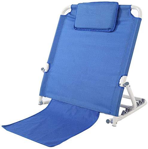 QSXF El Respaldo depende del Respaldo. Las Personas Mayores en Las Espaldas de casa Cama paralizados en la Silla. El Soporte de la Silla de enfermería,Blue
