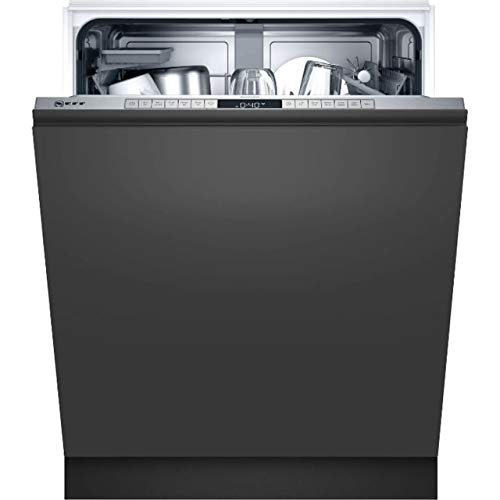 Neff S155HAX24E - Lavavajillas totalmente integrado (60 cm, D, N50, 46 dB, Eco 9,5 l, 84 kWh/100 ciclos, 13 MGD)