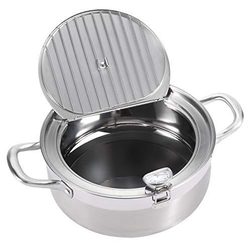 AQUIVER 2.7Qt Tempura Deep Frying Pot - 8.3