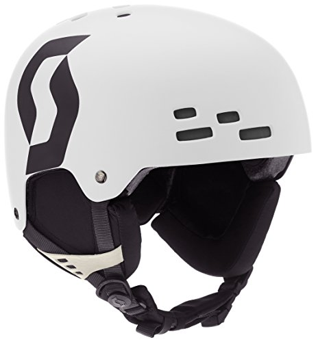 Scott Scream Skihelm, White Matt, M
