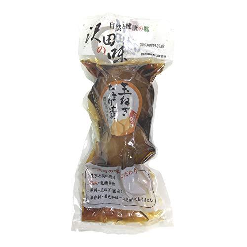【国産原料使用】沢田の味 玉ねぎ たまり漬 200g 巣鴨のお茶屋さん 山年園