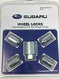 Subaru Genuine Steel Wheel Locks KIT Fits All Models - Set of 4 - B321SFL010 OEM Forester Legacy Impreza