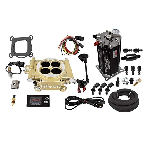 FiTech 30005 Easy Street EFI 600HP & 40004 Fuel Command Center EFI Conversion