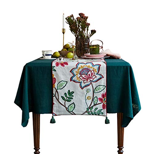 Modern Outdoor Tafelloper, Boerderij Decoratie Woonkamer Keuken Tafelkleed, Afwasbaar, Voor Eettafel, Schoenenkast Kerstmis, 42X180cm