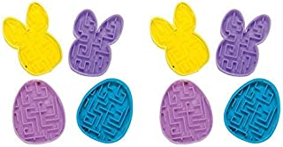 10 Pack- Easter Maze Puzzle Toys -Great Easter Egg and Easter Basket Fillers