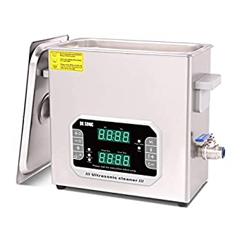 DK SONIC 6L Large Touch Ultrasonic Cleaner with Heater,Timer,Multiple Cleaning Mode for Carburetor,Automotive Parts,Gun Parts,Circuit Board,etc
