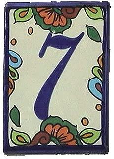 Fine Crafts Imports Hacienda Tile Number Seven