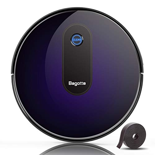 Robot Vacuum,Bagotte Upgraded 2000Pa Strong Suction Robotic Vacuum Cleaners, Automatic Carpet Boost,...