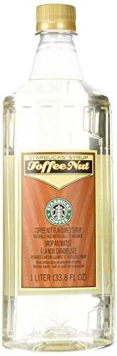 Starbucks Toffee Nut Syrup (1-Liter)