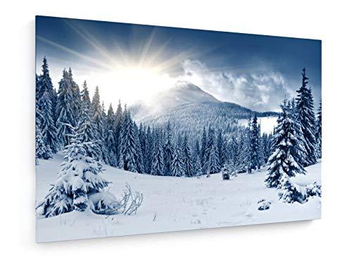 weewado Leonid Tit - Hermoso Paisaje de Invierno con los ár