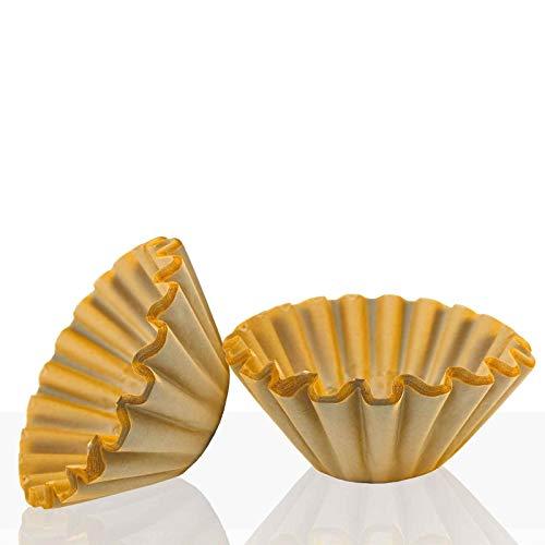 Coffeefair, braune Korbfilter 85/245 mm, 1000 Stk, für Bonamat, Animo, Melitta, Bartscher
