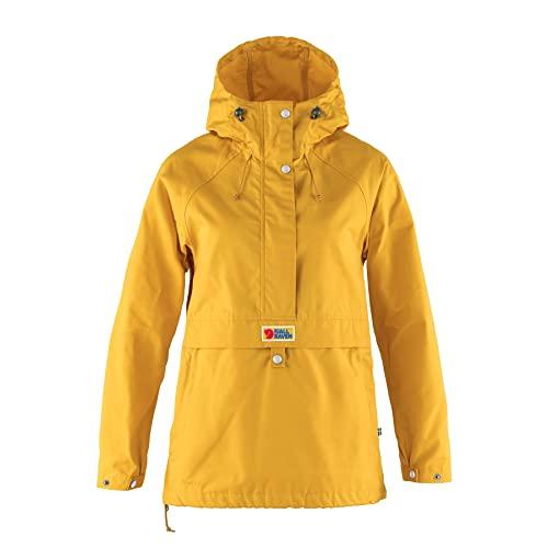 Fjällräven Womens Vardag Anorak W Jacket, Mustard Yellow, S