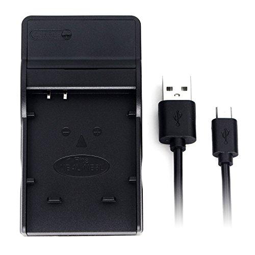 NB-4L USB Cargador para Canon PowerShot SD750, SD780 IS, SD1000, SD1100 IS, SD1400 IS, A2200, A3100 IS, IXY Digital 60, IXUS 220 HS, Digital IXUS 70 cámara y Más