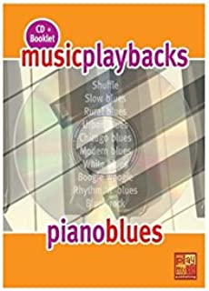 Music Playbacks Cd Piano Blues Pf Booklet/Cd Italian