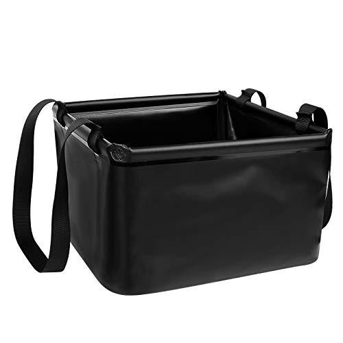 Redmoo Outdoor Faltschüssel 15L, Faltbarer Eimer Camping Waschschüssel aus langlebigem Planen Gewebe mit Verstärkte Ecken Alternative zur Plastik Spülschüssel, Geeignet für Camping,Tourismus