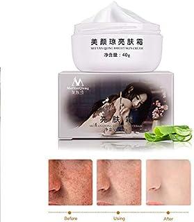 ETbotu 40g Face Care Cream Powerful Whitening Freckle Cream Remove Melasma Acne Spots Pigment Melanin Dark Spots Face Care Cream