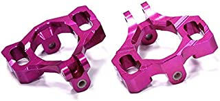 Integy RC Model Hop-ups T6719PURPLE Billet Machined Caster Blocks for HPI Savage X 4.6 2011, Flux & Savage XL