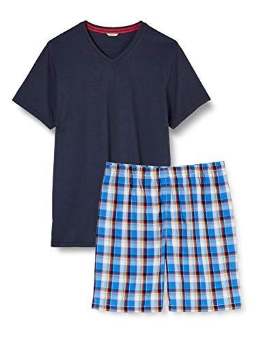 ESPRIT Bodywear Herren ALCOT NW Combi Pyjama Pyjamaset, 401, L