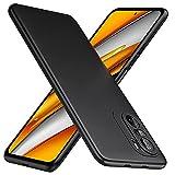TesRank Xiaomi Poco F3 und Mi 11i Hülle, Matte Oberfläche Soft Hüllen [Ultra Dünn] [Kratzfest] TPU Schutzhülle Hülle Weiche Handyhülle für Xiaomi Poco F3 und Mi 11i-Schwarz