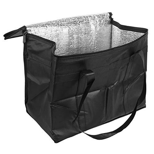 BESPORTBLE Najwyższej jakości izolowana torba na dostarczanie żywności wodoodporna torba na artykuły gastronomiczne cieplejsza torba na zakupy piknik podróż plaża dostawa ciepłego zimnego jedzenia