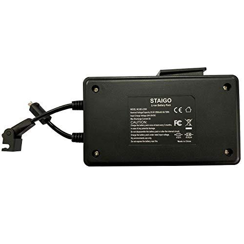 STAIGO Batterie für Elektrisch Wohnen Aufstehsessel Verstellbare Rückenlehne Relaxsessel Fernsehsessel Pflegesessel mit Aufstehhilfe Drahtloser Akku für Elektrische Bewegungsmöbel[25.9V 2500mAh]