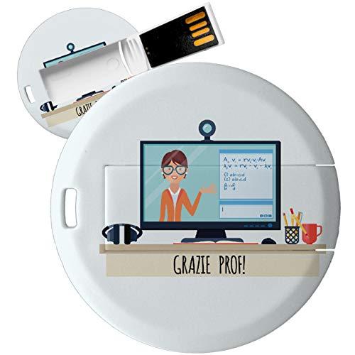 My Custom Style PenDrive USB rund 4,3cm #Schule 2#32Gb 3.0
