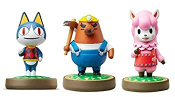 Rover - Mr Resetti - Reese - Amiibo  Animal Crossing Series  for Nintendo Switch - WiiU 3DS 3 Pack  Bulk Packaging