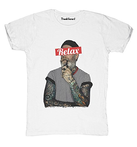 New T-Shirt Fiammata Uomo Marinaio Tattuato Relax Idea Regalo