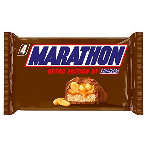 Snickers Marathon Retro Edition Chocolate Bars, Pack of 4