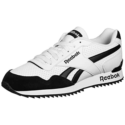 Reebok Royal Glide RPLCLP, Zapatillas de Running Hombre, Blanco/Negro/Blanco, 42.5 EU
