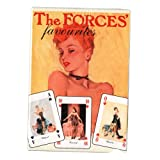 The Forces Favourites Glamour Playing Cards - Sealed Box - Pin-Ups From The 1940's - Vintage...