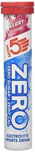 High5 Zero Electrolitos Bebida Para Deportistas Cámara de 20 fichas - compra 1 Get Uno Gratis - Sabor Frutos Del Bosque