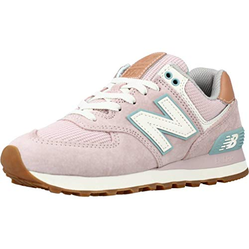 New Balance Damen 574 Sneaker, Space Pink, 37.5 EU