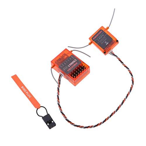 Bonarty AR6210 6 Ch DSMX Hochgeschwindigkeitsempfänger Erweiterte Antenne Für DX6 DX6I DX8 DX9 DEVO10