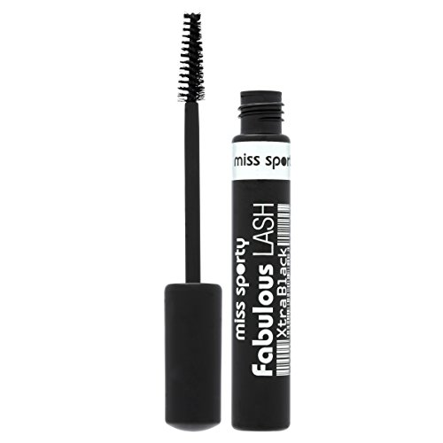 Coty Miss Sporty Fabulous Lash Lash Building Mascara 8ml Xtra Black by Miss Sporty