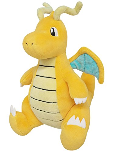"Sanei Pokemon All Star Collection PP39 Dragonite 8.5"" Stuffed Plush"