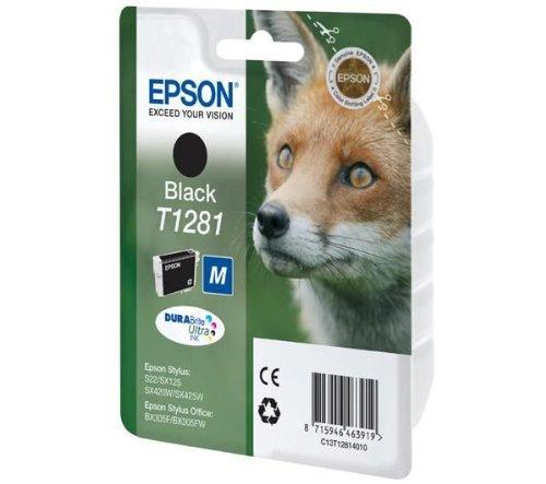 "Epson Cartouche""Renard"" - Encre DURABrite Ultra N - cartouches d'encre (Noir, Epson Stylus S22/SX125/SX130/SX230/SX235W/SX420W/SX425W/SX430W/SX435W/SX440W/SX445W, Stylus Office B, Jet d'encre)"