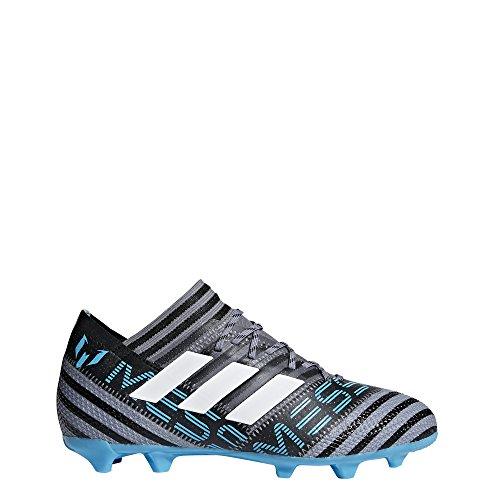 adidas Unisex-Kinder Nemeziz Messi 17.1 FG Fußballschuhe, Grau (Grey/Footwear White/Core Black), 36 2/3 EU