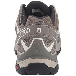 Salomon Women's X Ultra 3 GTX Hiking Shoes, Vintage Kaki/Bungee Cord/Crown Blue, 9