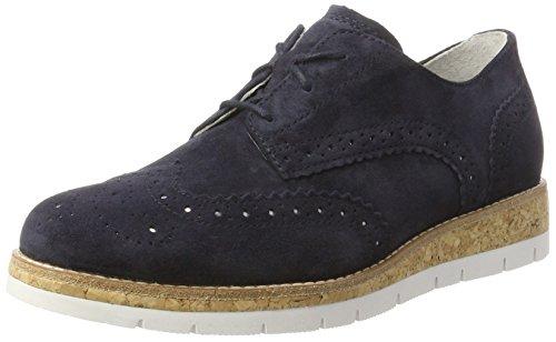 Gabor Shoes Comfort, Zapatillas Mujer, Azul (Ocean Kork), 38.5 EU