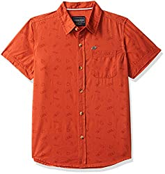 Cherokee by Unlimited Boys Plain Regular Fit Shirt