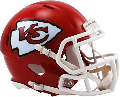 Riddell Kansas City Chiefs Revolution Speed Mini Football Helmet - NFL Mini Helmets