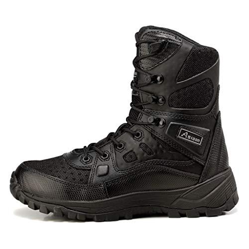 Wthfwm Spec-Ops laarzen voor volwassenen, breath, politie, werkschoenen, veiligheidswoestijnen, legerschoenen, militair, hoog