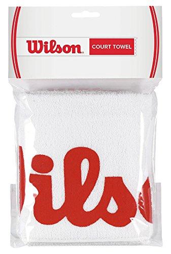 Wilson Sport-Handtuch, Sport Court, weiß/rot, WRZ540000