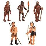 NUOBESTY Emulación Modelos Humanos Primitivos Modelo de Evolución Humana Cavernícola Figura de Acció...
