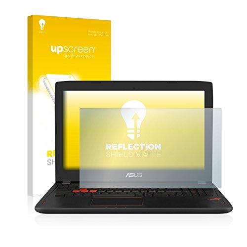 upscreen Entspiegelungs-Schutzfolie kompatibel mit Asus ROG GL702VM – Anti-Reflex Bildschirmschutz-Folie Matt