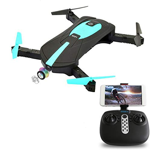 TWW Drone,with 720P Camera FPV WiFi RC with Altitude Hold, Headless Mode for Beginners with One Key Start/Land, 3D Flips